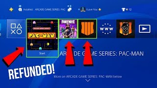 How to get a FULL REFUND on PS4 GAMES/DLC (EASY METHOD)