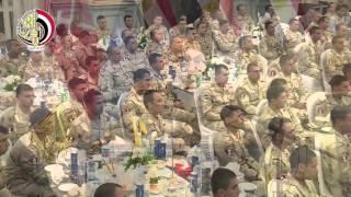 وزير الدفاع: أمن مصر القومي مهمة مقدسة لا تهاون فيها.. «فيديو»