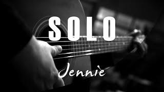 Jennie - Solo ( Acoustic Karaoke )