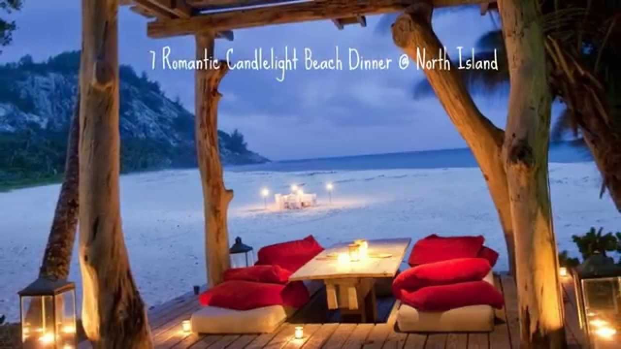 10 Candlelight Dinners On The Beach