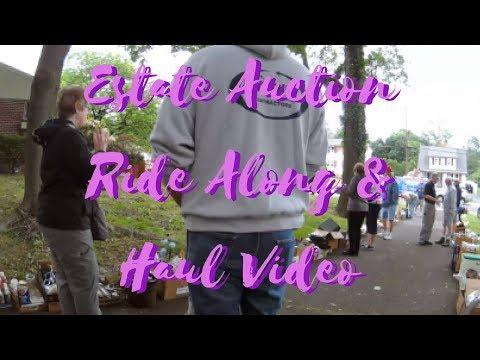 Estate Auction Ride Along & Haul Video