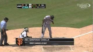 THE BEST AT BAT OF 2011, Santiago Casilla vs Jose Ceda