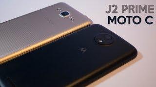 Galaxy J2 Prime vs Moto C - Comparativa