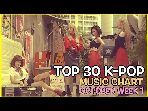 [TOP 30]  K-POP SONGS CHART OCTOBER  WEEK 1