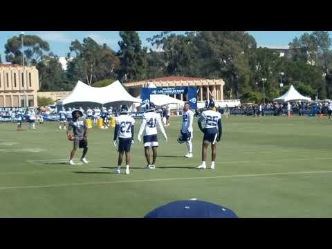 Rams Training Camp 2019 Day 2 Footage