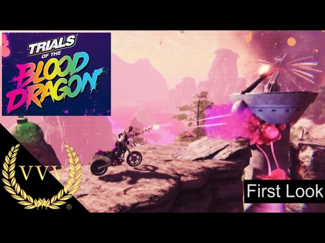 Trials Of The Blood Dragon First Look Gameplay