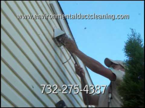 how to clean out dryer vent line
