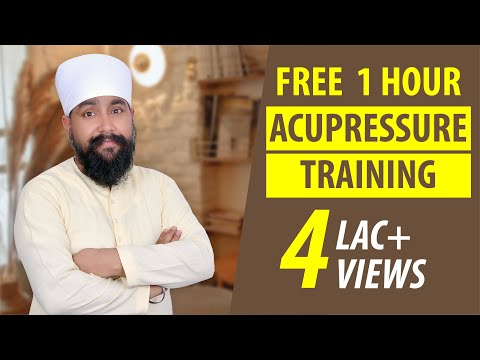 Acupressure Training | Acupressure Points and Course
