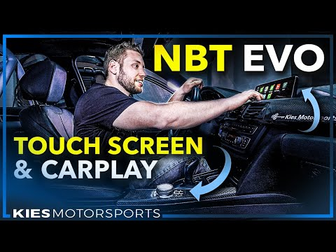 How To Install An NBT EVO With A TOUCH SCREEN, CARPLAY, TOUCH IDRIVE CONTROLLER + ID6 In An F30 BMW
