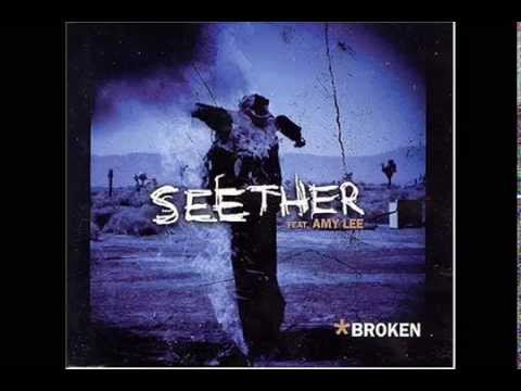 Seether - Broken ft Amy Lee ( High Quality ) Lyrics in Description