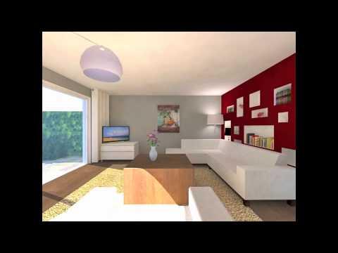 Interieurontwerp met 3d visualisatie woonkamer youtube for 3d inrichten