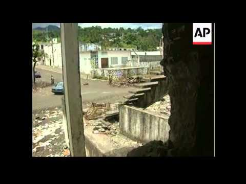Comoros Islands - Fighting continues on Anjouan