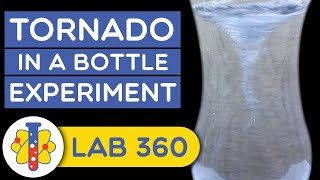 How to make tornado in a bottle #shorts #backtobasics #scienceexperiments