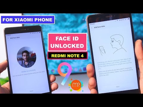 Face ID Unlock Redmi Note 4 & Other Xiaomi Phone - MIUI 9 Beta Rom Based MIUI Pro Rom Review