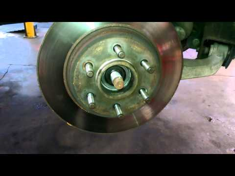 Wheel bearing replacement OVERVIEW 2006 Ford F150 2WD