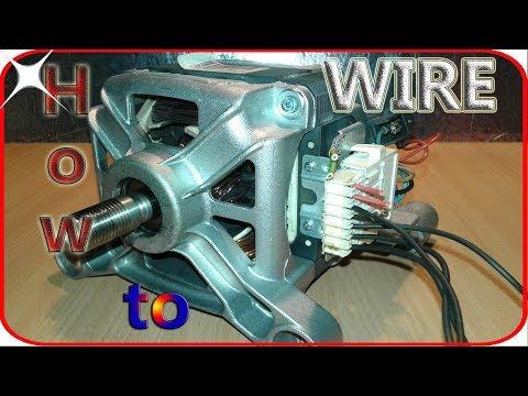 Washing machine motor wiring basics - YouTube on