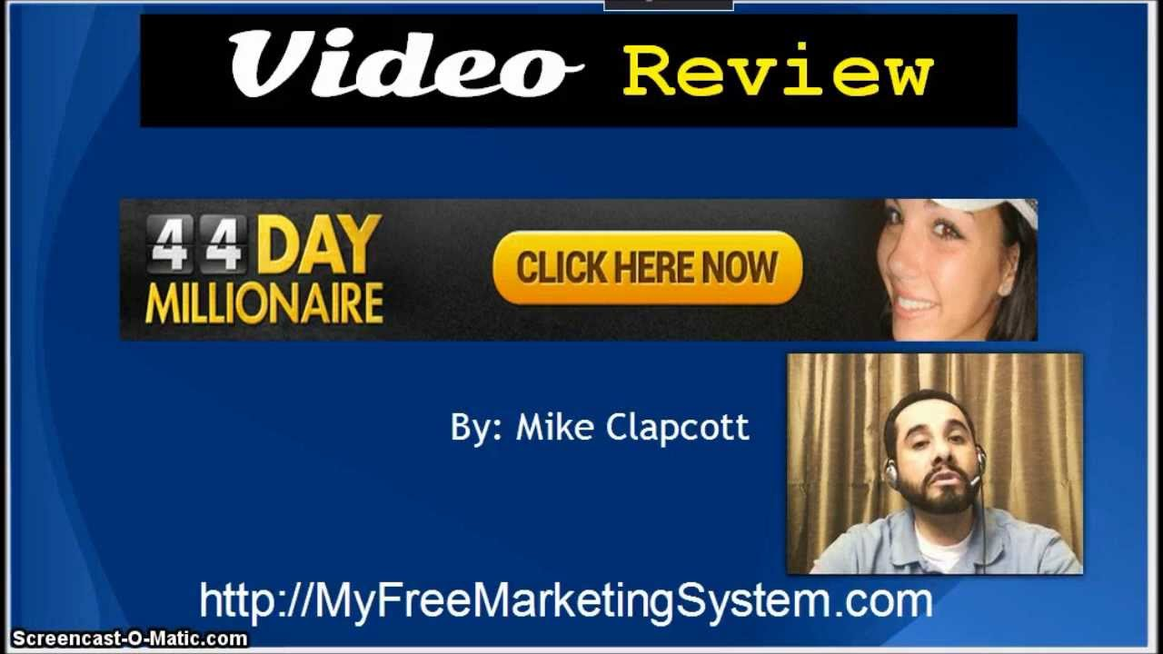 44 Day Millionaire Review | 44 Day Millionaire by Mike ...