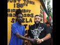 DJ KHALED LINKS UP WITH SIZZLA IN JAMAICA TODAY - MORE PHOTOS OF KHALED AND BUJU BANTON