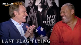 Last Flag Flying - Favorite Road Trip: Bryan Cranston and Laurence Fishburne   Amazon Studios thumbnail