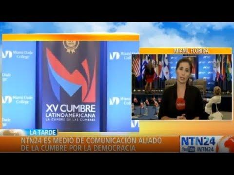 Comenzó la Cumbre por la Democracia en Miami para debatir la crisis de Venezuela y Nicaragua