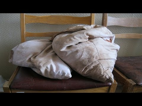 ★Стирай подушки 2 раза в год и пылевые клещи будет НЕ СТРАШНЫ. Как стирать и сушить перьевые подушки