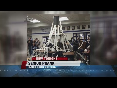 Basic High School prank, did it go too far?