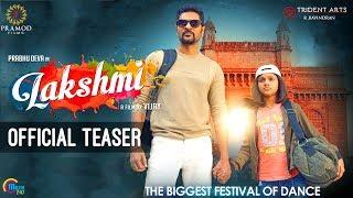 Lakshmi | Telugu Teaser | Prabhu Deva, Aishwarya Rajesh | Vijay | Sam C S | Official