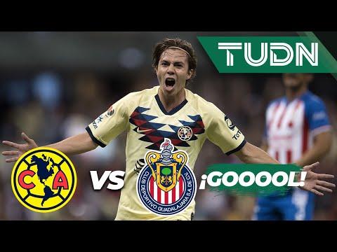 ¡Goool de Córdova! | América 1 - 0 Guadalajara | Liga MX - Apertura 2019  - Jornada 12 | TUDN