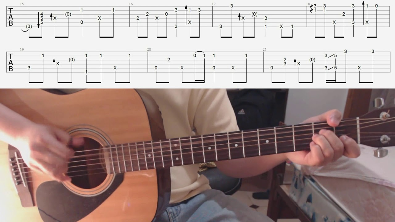 Perfect Strangers TV Theme TABS fingerstyle guitar cover