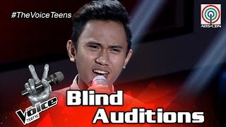 The Voice Teens Philippines Blind Audition: Ivan Navares - In Your Eyes