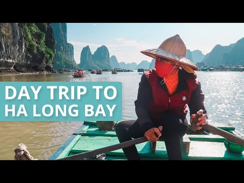 DAY TRIP TO HA LONG BAY