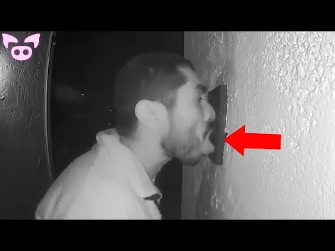 Scary Security Footage That Has Left Authorities Worried