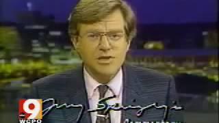 Jerry Springer 1988 WLWT Bus Drivers Strike News Flashback - Cincinnati Ohio 80s