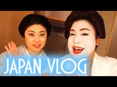 I AM A GEISHA   JAPAN VLOG   PatrickStarrr