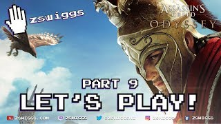 Assassin's Creed Odyssey - Let's Play! Part 9 - Full Game with zswiggs