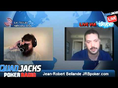 Jean-Robert Bellande part 1/2   QuadJacks Poker Radio Thursday, December 8, 2011