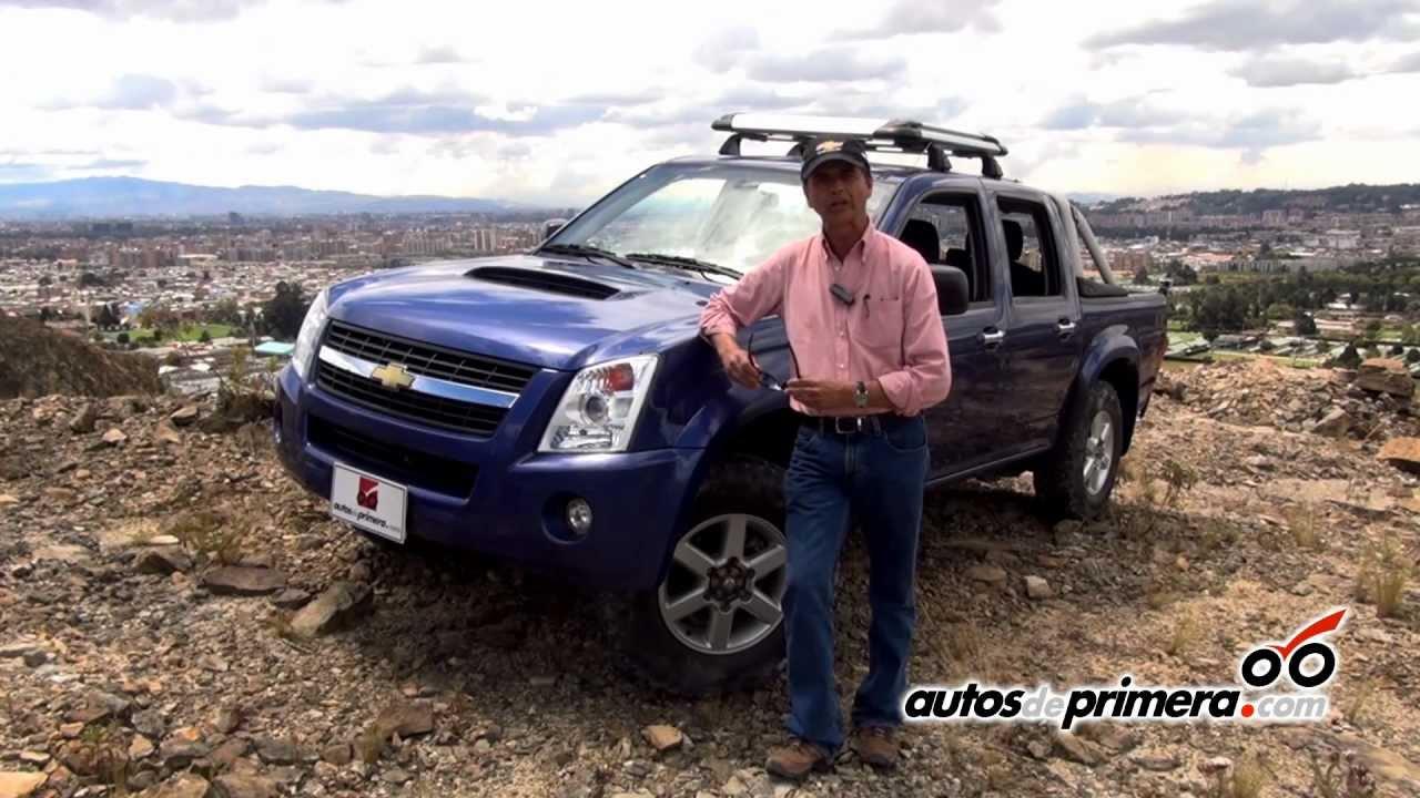 Chevrolet luv d max prueba de manejo en una cantera en bogot colombia youtube