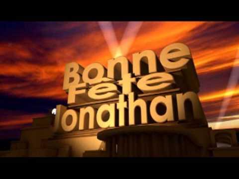 Bonne Fête Jonathan