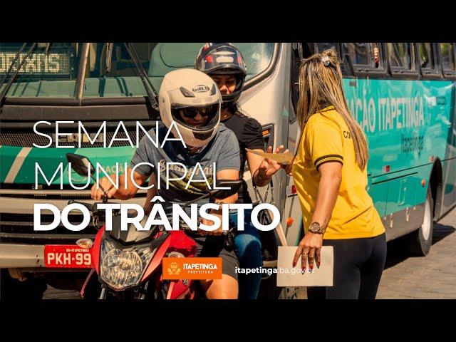 Semana Municipal de Transito