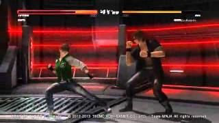 DOA5U: ZeoRebirth (Ein) Vs Offbeat Ninja (Hitomi)