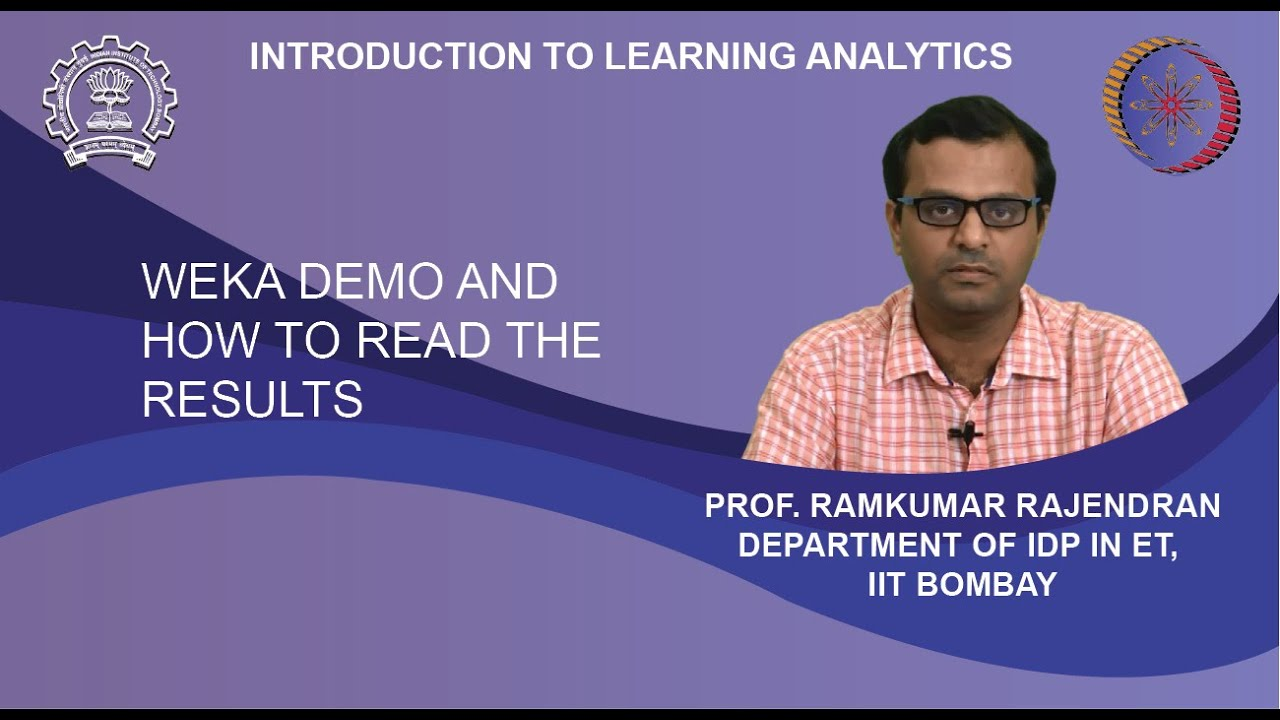 Download Lecture 16 : Weka demo and how to read the results