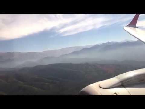 ✈ Embraer 190 Austral Approach, Landing @ Salta, Argentina