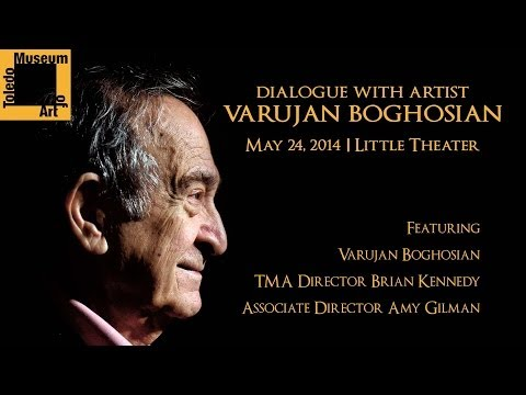 Dialogue with Artist Varujan Boghosian