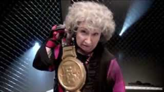 Margaret Atwood (Luba Goy) Knock's out Rob Ford