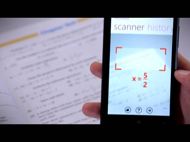 PhotoMath Is A Free App That Can Solve Equations Through