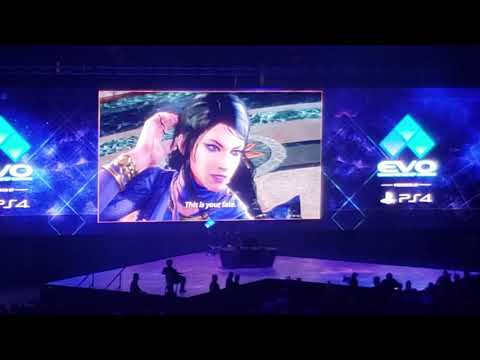 Evo 2019 Tekken 7 Season 3 Zafina & Leroy Smith Crowd Reaction