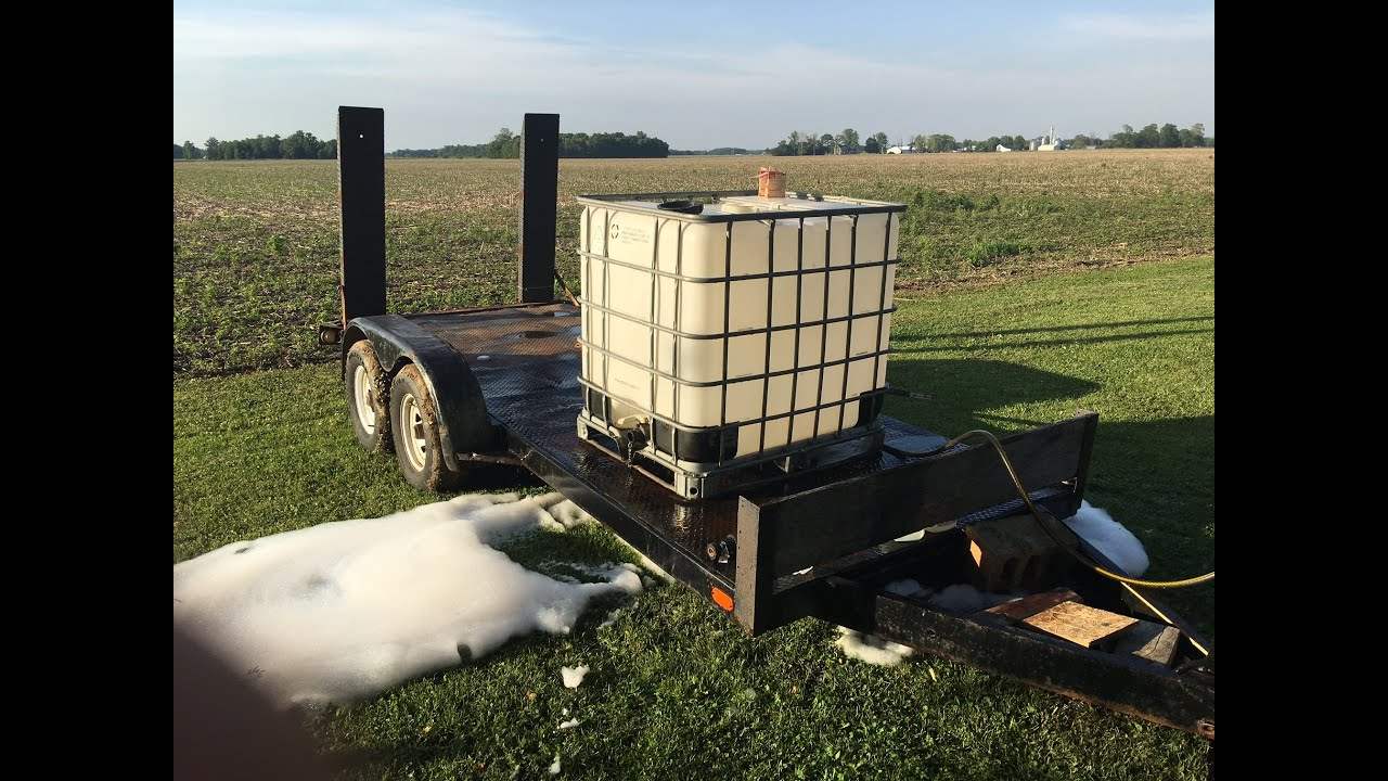 How to Clean out a 275 Gallon IBC Tote Container
