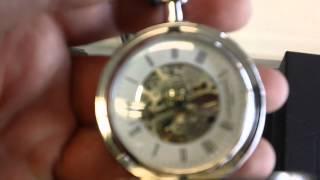 Hunter Case Mechanical Pocket Watch.