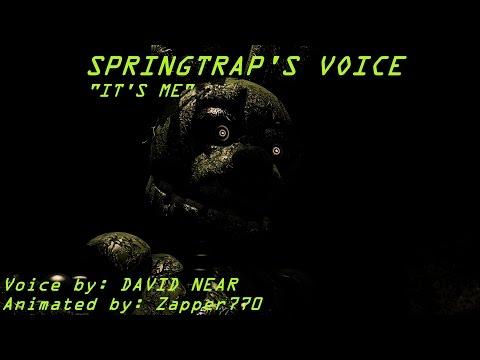 [SFM FNaF] Springtrap's Voice
