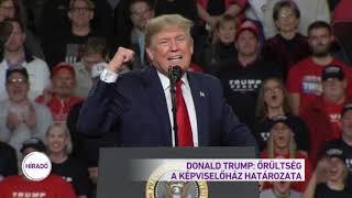 Donald Trump: Őrültség a képviselőház határozata